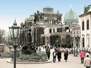 Brühl terrace Dresden