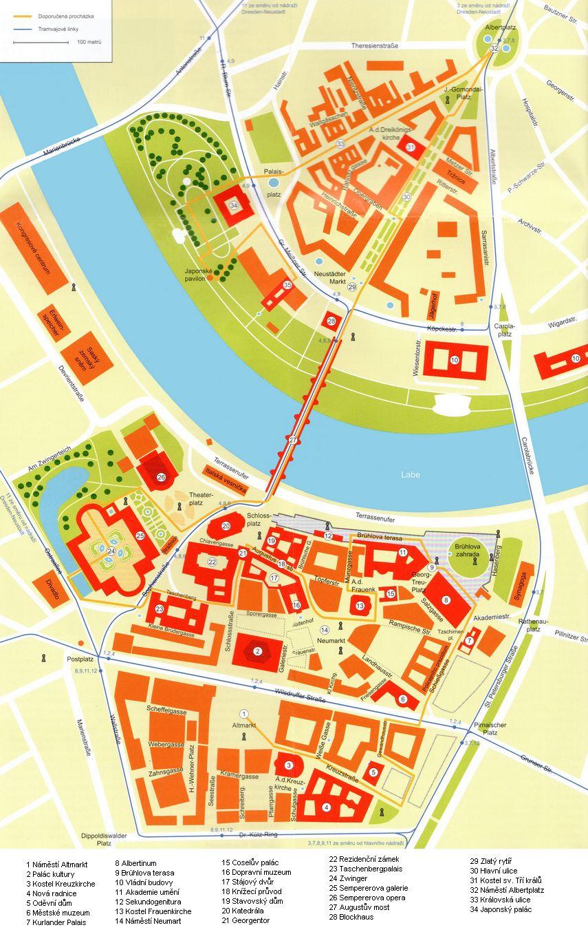 Drazdany Mapa Drazdany Pruvodce